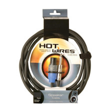 Hot wires speakon to trs speaker cables