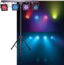 CHAUVET 4BAR TRI LED DMX Complete Light System $20 Instant Coupon Use Promo Code: $20-OFF