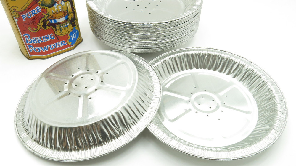 perforated pie pans