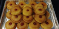 Pineapple upside down cakes - mini's - finished product.