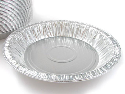"8"" Disposable Aluminum Foil Pie Pan - Deep  #816"