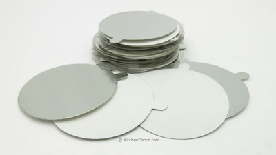 Board Lids for 4 oz Foil Cups - #L1400