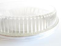 "9"" Plastic Pie Pan Lid  #CPC-307"