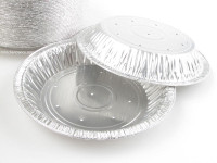 "8"" Deep Perforated pie pan  #816perf"
