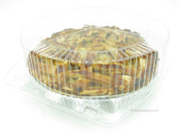 """10"""" Clear Plastic Clamshell Pie Container High Dome #CPC-120"""