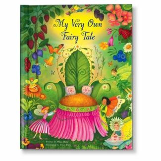 Personalized Storybook For Girls Illustrated With Fairies