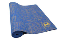 Splendid Natural Jute Yoga Mat Blue 5mm