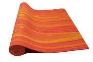 Boho Yoga Mat Aztec Orange 4.5mm