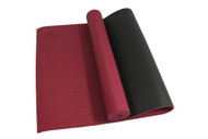 Sublime Eco-Yoga Mat 2 Tone Red 6mm