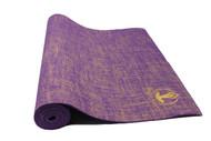 Splendid Natural Jute Yoga Mat Purple 5mm