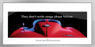 Corvette Framed Print - They don't write songs about Volvos.