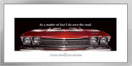 Chevelle Framed Print - As a matter of fact I do...