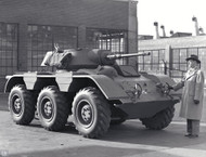 GM T-28 Armored Car Prototype Poster