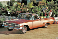 Chevrolet El Camino 1960 Ad Poster