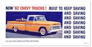 1962 Chevy Truck Billboard Banner