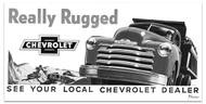 1949 Chevy Truck Billboard Banner