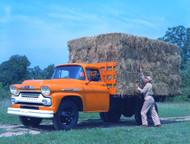 1958 Viking Stake Truck Poster
