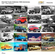 Chevrolet Trucks 1941 - 1960 Collection Poster