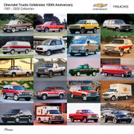 Chevrolet Trucks 1981 - 2000 Collection Poster