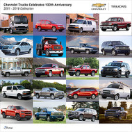 Chevrolet Trucks 2001 - 2018 Collection Poster