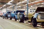 Chevrolet Truck Assembly Line Poster