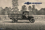 Chevy Trucks Centennial 1918 - 1939 Art Poster