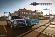 Silverado and C10 Centennial Art Poster