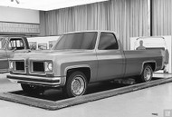 1973 Chevy Pickup Concept Poster