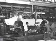 1969 Corvette Assembly Plant Poster