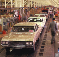 1964 Buick Assembly Plant Poster
