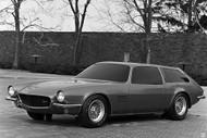 1970 Chevrolet III Studio Camaro Concept Poster