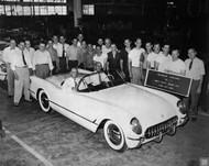 1953 Chevrolet Corvette Celebration Poster
