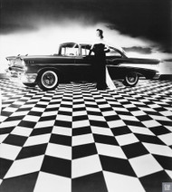 1957 Chevrolet Bel Air Ad Poster