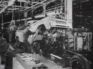 1958 Chevrolet NAPCO 4x4 Pickup Assembly Plant Poster