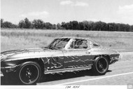 Corvette 1969 Coupe Testing Poster