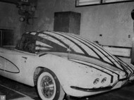 1961 GM Corvette Testing Poster