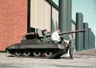 1950s Cadillac US Army M56 Scorpion Tank Poster