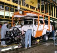 1984 GM Flint Asssembly Plant Poster