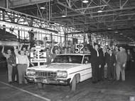 52 Millionth Chevrolet Poster - Framingham Assembly Plant