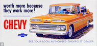 Chevy 1960s Advertisement Poster