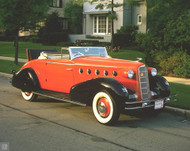 1934 LaSalle Convertible Coupe  Poster