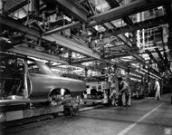 GM Fremont Assembly Plant 1964 Poster