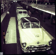 1952 Oldsmobile Assembly Plant Poster