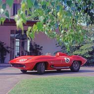 1959 Corvette StingRay Racer Poster