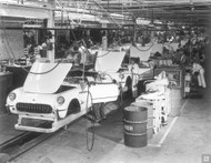 GM St Louis Assembly Plant Poster