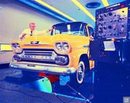 1958 Chevrolet Apache Pickup Poster
