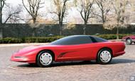 C5 Corvette Clay Concept 1987 Poster