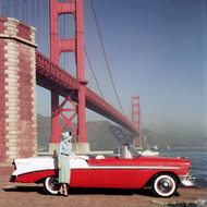 1956 Chevrolet Convertible Poster