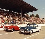 1955 and 1956 Pontiac Poster