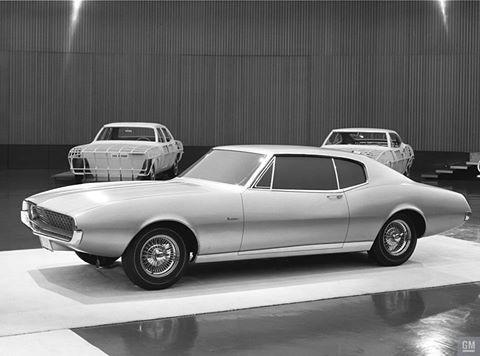 1964 XP-836 Camaro Concept Poster - GMPhotoStore